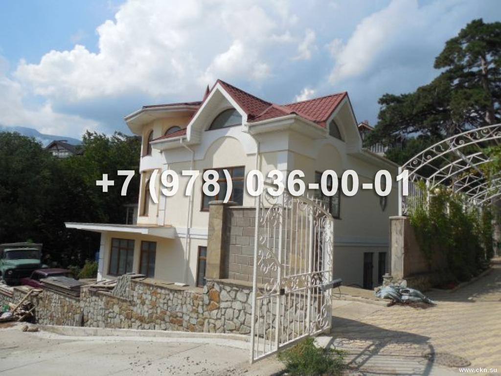 №1391 дом 360 м<sup>2</sup><br /> участок 5 сот.<br>Массандра