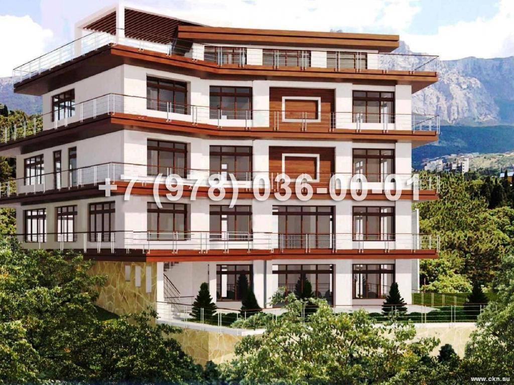 №1785 дом 1600 м<sup>2</sup>, ул. Алупкинское Шоссе