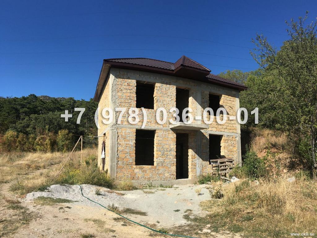 №1879 дом 100 м<sup>2</sup><br /> участок 1 сот.<br>Массандра