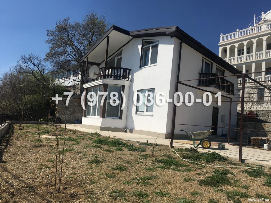 №1536 дом 156 м<sup>2</sup><br /> участок 5 сот.<br>Ялта